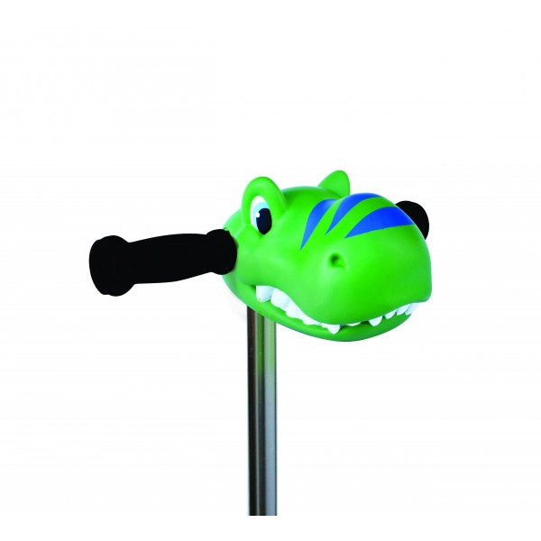 Scootaheadz glava zelen dinozaver