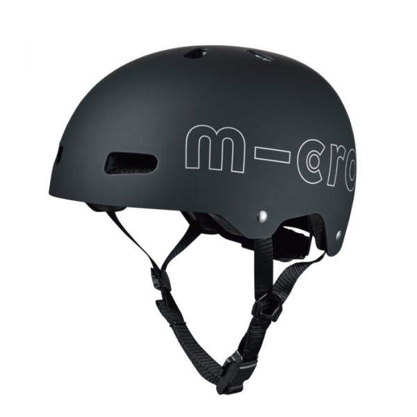 Čelada Micro črna M (54-58 cm)